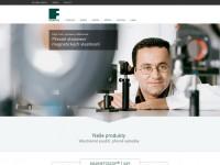 Nové, tématicky zaměřené webové stránky FOERSTER